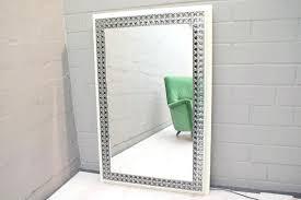 black framed bathroom mirrors full