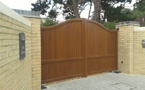 Aluminium Gate Colours And Wood Effect Finishes For Our Aluminium Gates
