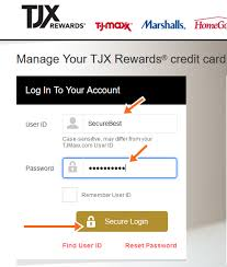 tj ma credit card payment of bill