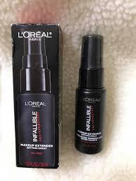 loreal paris infallible pro spray set