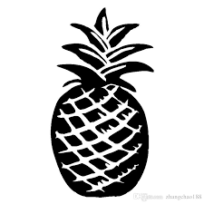 2020 9 9 18 2cm Pineapple Lovely Nature Style Car Sticker Vinyl Laptop Sticker Ca 404 From Zhangchao188 0 96 Dhgate Com