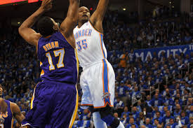 2012 NBA Playoffs, Lakers Vs. Thunder Game 1 Score: Russell ...