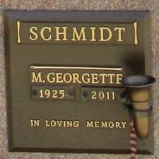 M. Georgette Schmidt (1925-2011) - Find A Grave Memorial