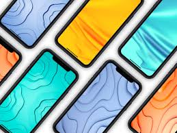abstract wallpapers pack 2 colors
