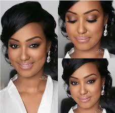 gorgeous bridal makeup from insram