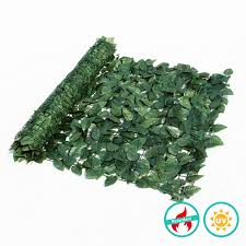 Artificial Ivy Roll Green Hedge Fence For Privacy Screen
