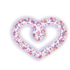 Image result for small stringed hearts on transparent background