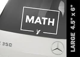 Andrew Yang Math Vinyl Decal Bumper Sticker 2 Pack Ebay
