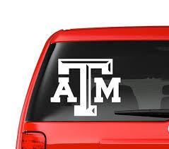 Texas A M Aggies Decal Sticker Car Decal Iphone Laptop Window Sticker Gold Decal Vinyl Decals Car Decals Car Car Stickers