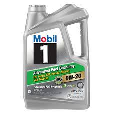 full synthetic motor oil 0w 20