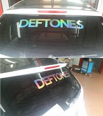 Saw A Deftones Car Sticker Here Is Mine As Well Deftones