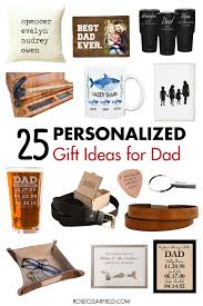 25 personalized gift ideas for dad
