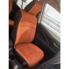 leather brown fancy car seat cover rs
