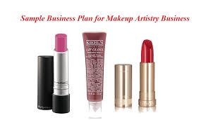 makeup artist business plan sle