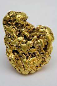 One Troy Ounce California Gold Nugget Stock Image - Image of ...