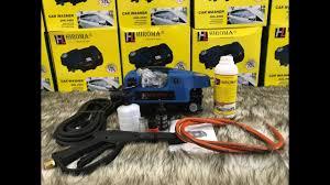 HIROMA | Hướng dẫn sử dụng máy rửa xe áp lực cao CHÍNH HÃNG HIROMA - YouTube