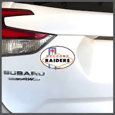 Oakland Raiders Raiders Welcome To Las Vegas Decal Or Car Magnet