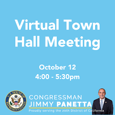 Virtual Town Hall Meeting with ...