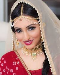 indian wedding makeup for the bride