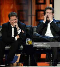 Actor Jonah Hill and roast master Seth ...