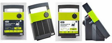 Patriot Solarguard 80 Solar Electric Fence Charger Energizer 139 99 Picclick