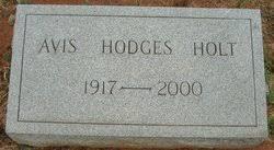 Avis Henderson Hodges Holt (1917-2000) - Find A Grave Memorial