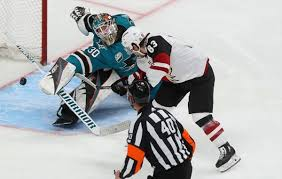 San Jose Sharks goalie Aaron Dell Sharks' Dell out to prove ...