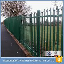 Wholesale Cheap Picket Tubular Steel Fence Aluminum Fence Panel Backyard Fences Modern Fence Cheap Fence