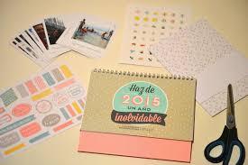 Regalos Diy Calendario Scrapbook De Mr Wonderful A Golpe De