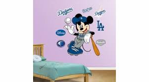 Mickey Mouse Dodgers Fathead