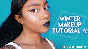 winter makeup for dark skin wedding ideas