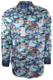 Robert Graham Mens Lake Mead Long Sleeve Button-Down Shirt