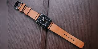 leather bands for the apple watch