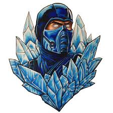 Mortal Kombat Sub Zero Ice Master 3 6 Vinyl Decal Stickers 2 99 Picclick