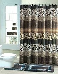 bathroom shower curtains curtain set