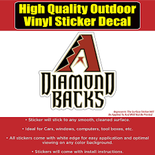 Arizona Diamondbacks Baseball Vinyl Car Window Laptop Bumper Sticker D Colorado Sticker