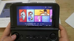 Máy chơi game cầm tay Tablet Android 5 inch GPD XD, APP chơi game PSP,DS  trong máy - YouTube