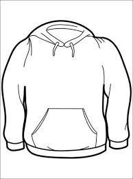 Print Kleurplaat Sweater Gratis Kleurplaten Omaľovanky Skice
