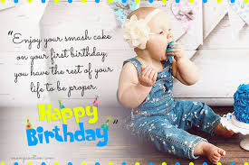 wonderful st birthday wishes and messages for babies