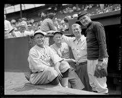 Cy Young, Lefty Grove, Walter Johnson at Old-Timers' Game at Fenway -  Digital Commonwealth