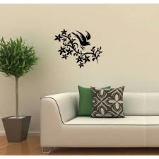 Removable 3d Vinyl Flower Tree Landscape View Wall Stickers Decal Art Ho Phj