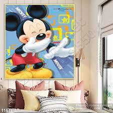 Tranh 3D trẻ em chuột Mickey