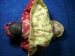 folk art topsy turvy stuffed doll