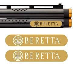 Beretta Vinyl Decal Sticker For Shotgun Gun Case Gun Safe Car Etsy