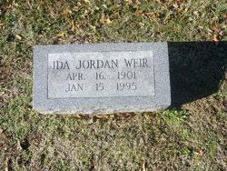 Ida Jordan Weir (1901-1995) - Find A Grave Memorial