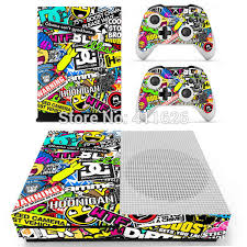 Oststicker Hot Selling Sticker Bomb Vinyl Decal Cover For Xbox One S Console For Xbox One Controllers Skin Stickers Cover Sticker Cover Forcover Covers Aliexpress
