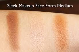 sleek makeup face form um review