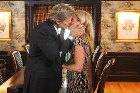 Grant Aleksander and Beth Chamberlin kiss long-running soap opera ...