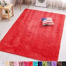 Amazon Com Red Rugs Kids Room Decor Home Kitchen