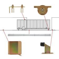 China Automatic Sliding Gate Fence Hardware System Kit Accessory China Sliding Gate Track Kit Sliding Gate Bracket And Roller Kit